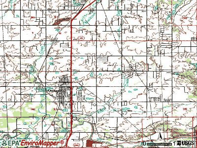 Owasso topographic map