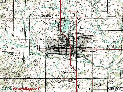 Stillwater topographic map