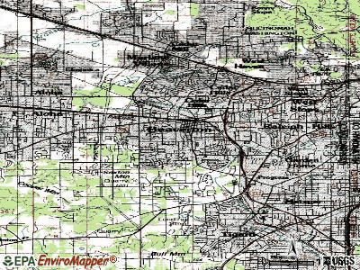 Beaverton topographic map