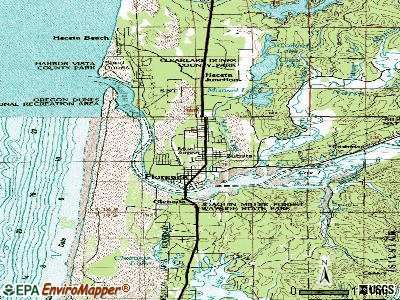 Florence topographic map