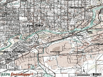 Gold River topographic map