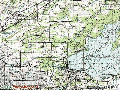Granite Bay topographic map