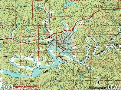 Toledo topographic map