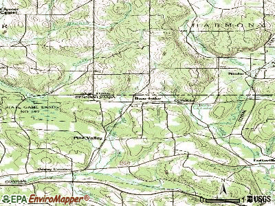 Bear Lake topographic map