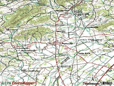 Biglerville topographic map