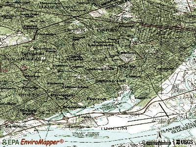 Collingdale topographic map
