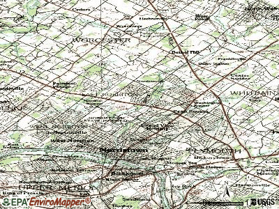 East Norriton topographic map