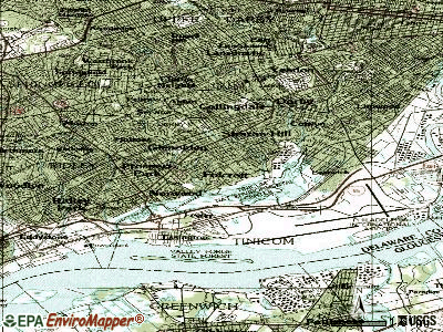Folcroft topographic map