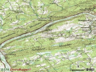 Glen Lyon topographic map