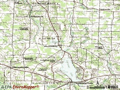 Harmonsburg topographic map