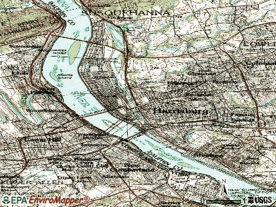 Hatboro topographic map