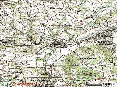 Hummelstown topographic map