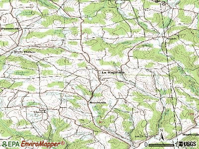 Lemoyne topographic map