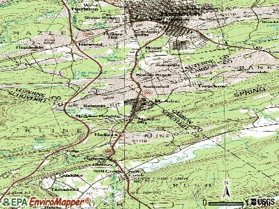 McAdoo topographic map