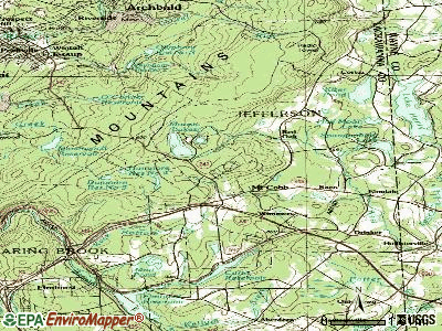 Mount Cobb topographic map