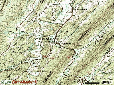 Orbisonia topographic map