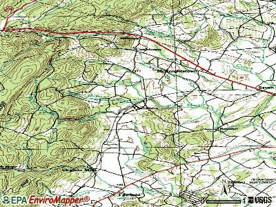 Orrtanna topographic map