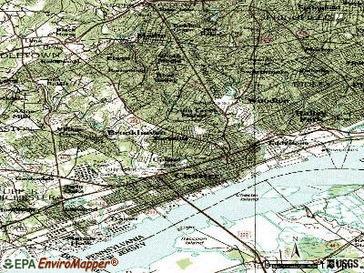 Parkside topographic map