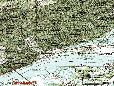 Ridley Park topographic map