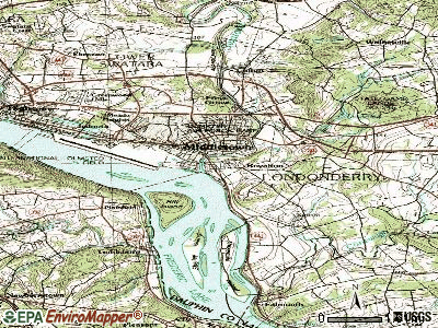 Royalton topographic map