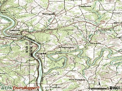St. Petersburg topographic map
