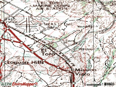 Lake Forest topographic map