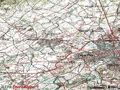 Shiloh topographic map