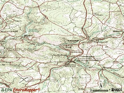 South Fork topographic map