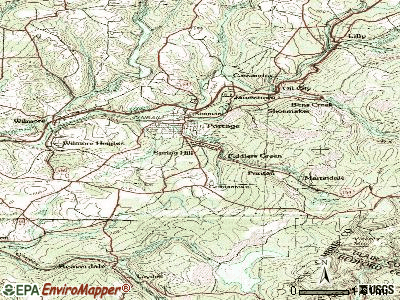 Spring Hill topographic map