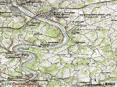Stockdale topographic map