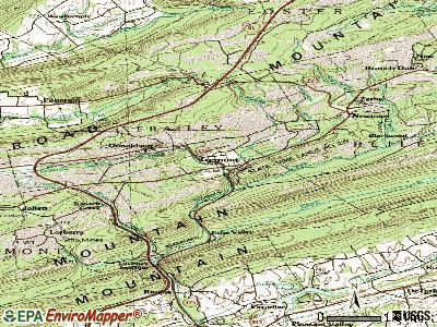 Tremont topographic map
