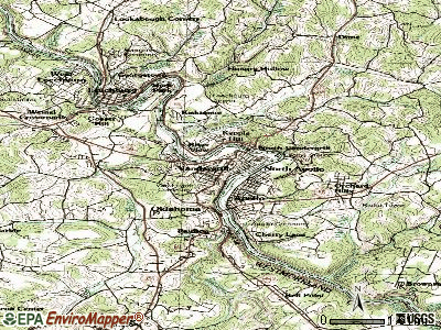 Vandergrift topographic map