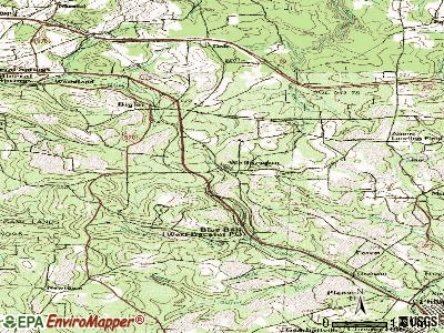 Wallaceton topographic map