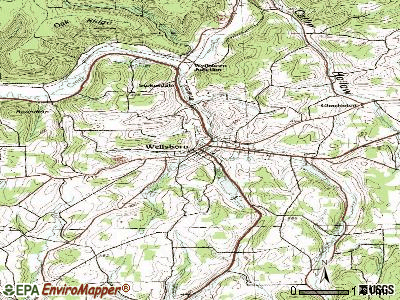 Wellsboro topographic map