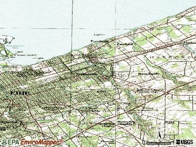 Wesleyville topographic map