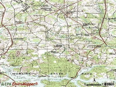 West Liberty topographic map