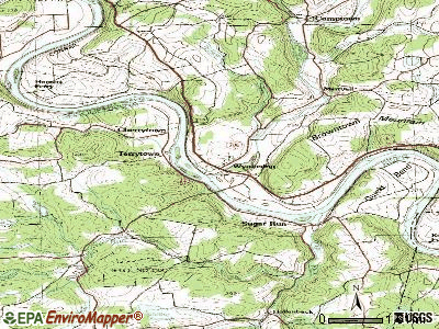Wyalusing topographic map