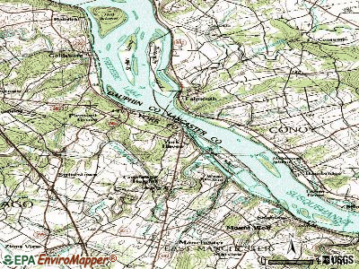 York Haven topographic map