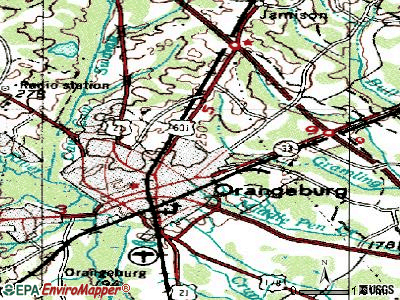 Brookdale topographic map