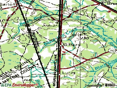 Gifford topographic map
