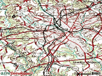 Judson topographic map