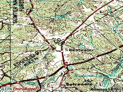 Murphys Estates topographic map