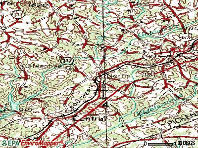 Norris topographic map