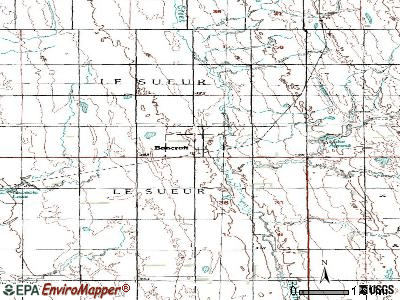 Bancroft topographic map