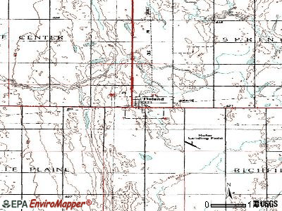 Doland topographic map