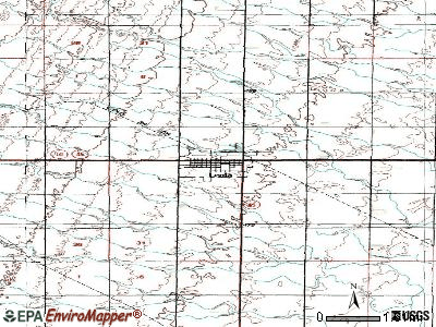 Leola topographic map