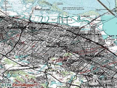 Menlo Park topographic map