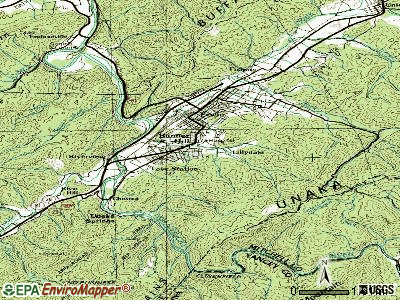 Banner Hill topographic map