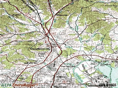 Goodlettsville topographic map