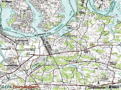 Green Hill topographic map